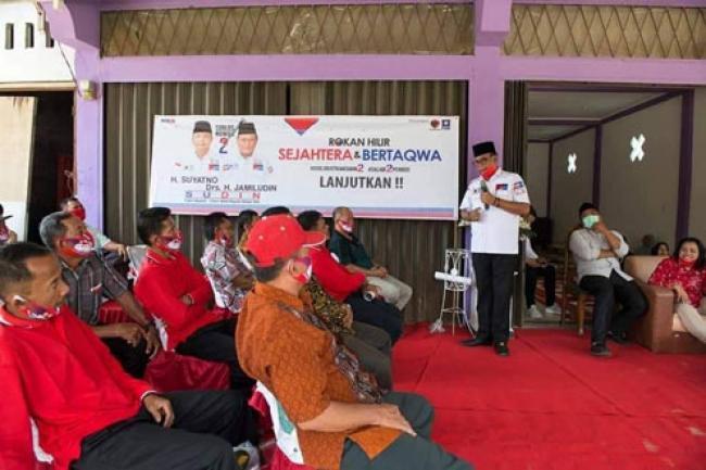 Kampanye Dialogis SUDIN di Simpang Kanan Disambut Antusias Warga