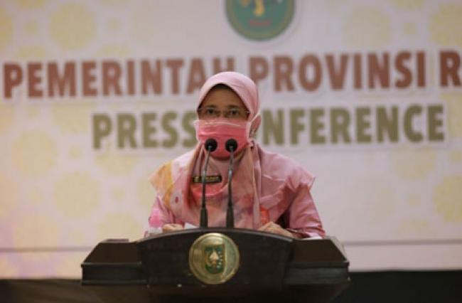Covid-19 Riau: Jumlah Pasien Sembuh Lebih Tinggi dari Pasien Positif