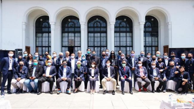 Pelantikan Pengurus IKA UNPAD periode 2020-2024