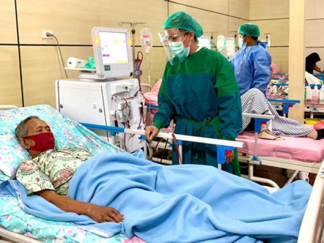 Pelayanan Cuci Darah RSUD Pratomo Bagansiapiapi Dinilai Bagus