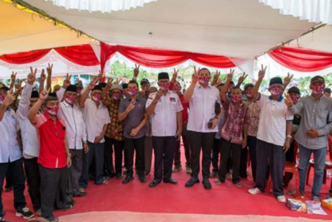 Akui Program Suyatno Sudah Dinikmati, Warga Teluk Merbau Minta Tambah Perbaikan Jalan lintas dan Pelabuhan Kualo