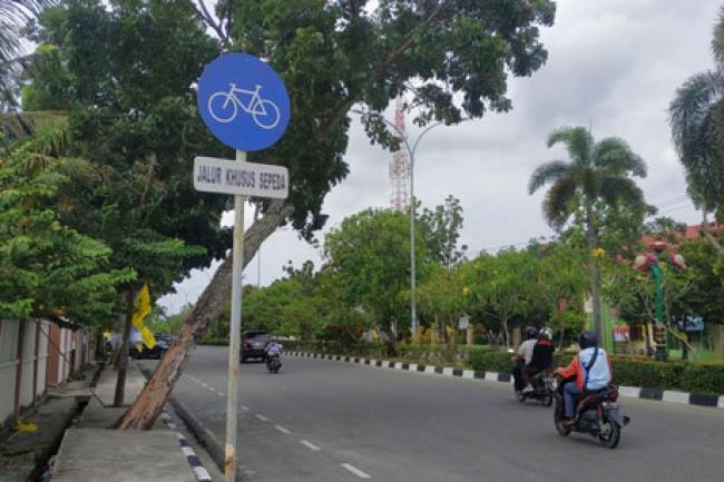 Pekanbaru akan Siapkan Zona Khusus Jalur Pesepeda di 12 Kecamatan