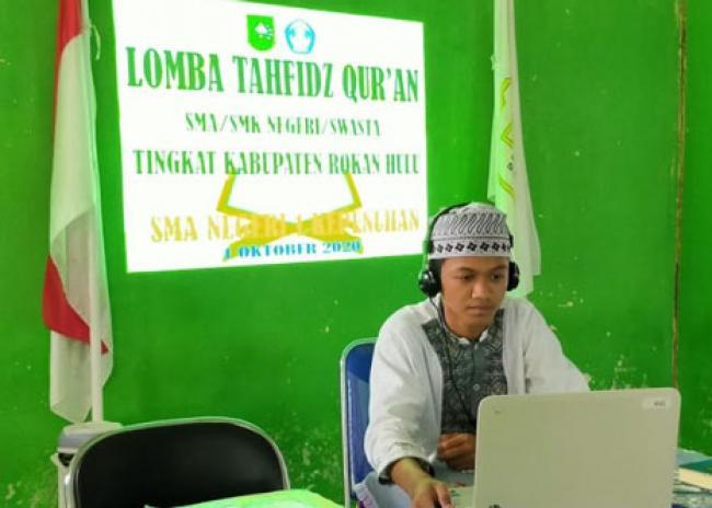 Siswa SMA Negeri 1 Kepenuhan Wakili Rohul di Ajang Tahfidz Quran Tingkat Provinsi Riau