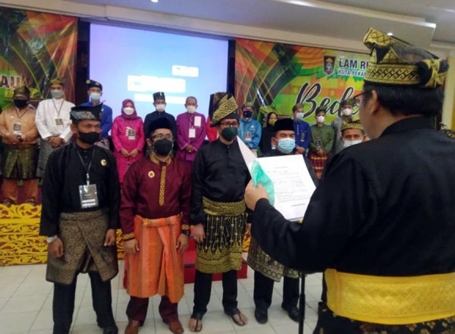 Tahniah! Datuk Rizaldi Putra Nahkodai LAMR Kota Pekanbaru