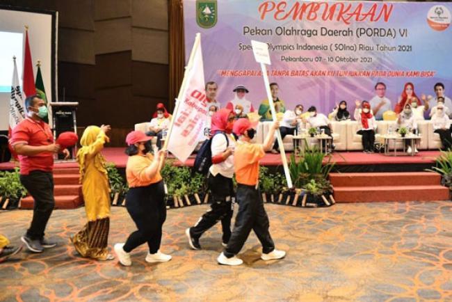 Bikin Bangga! Inilah Prestasi Atlet SOIna Riau Harumkan Indonesia