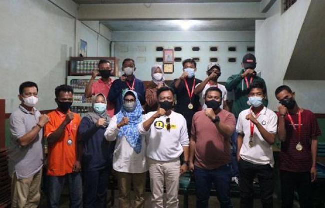 Wabup dan Kapolres Meranti Sambut Kepulangan Atlet yang Berlaga di Porda ke-6 SOIna Riau