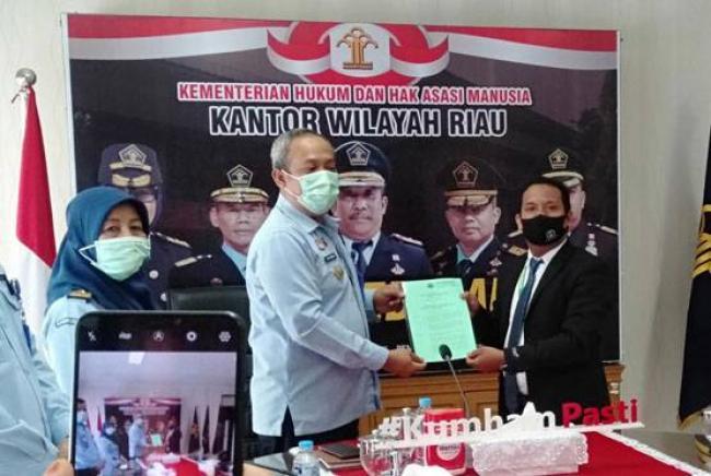 Ketua LBH Ansor Pekanbaru : Paralegal Santri Tersertifikasi Wajib Membela Yang Lemah