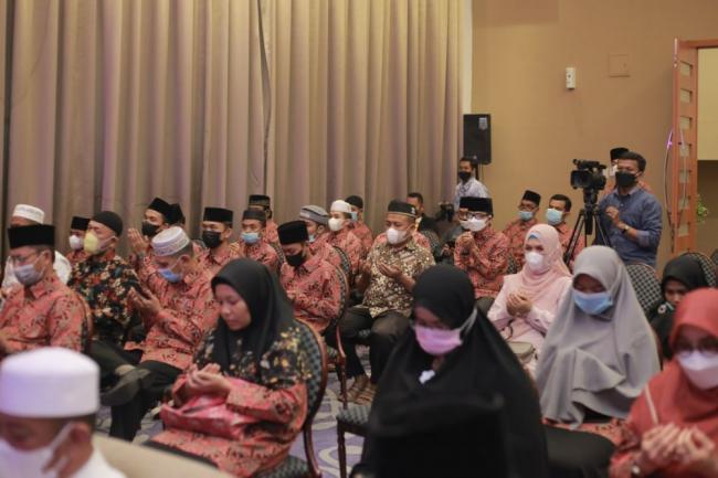 Meski Kondisi COVID-19, Gubernur Minta Kafilah Riau Tetap Semangat Ikuti STQ-N ke XXVI