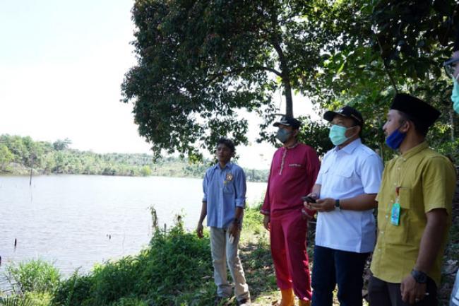 Tinjau Danau Telago Batin Bungsu, Wabup Siak: Sebuah Kawasan yang Wajib Dikembangkan