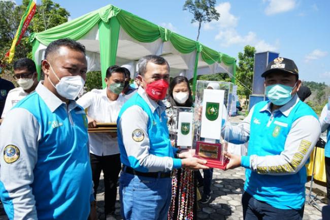 Siak Sri Indrapura Raih Juara Satu Ibu Kota Kabupaten Terbersih Se Riau 2021