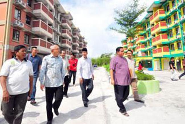 2016 Riau Bangun 6.640 RLH Untuk Masyarakat Kurang Mampu