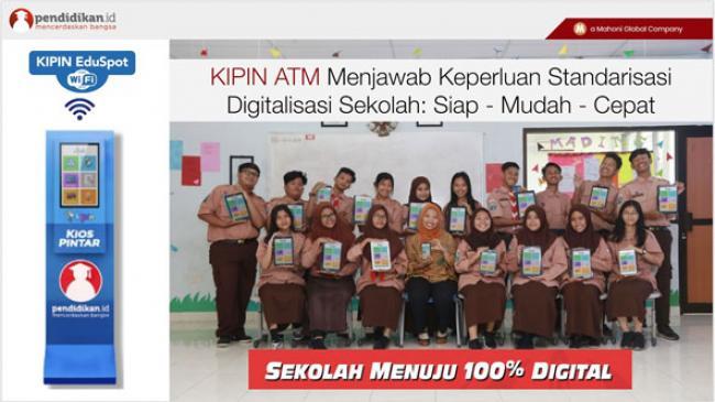 KIPIN ATM Memperkenalkan Teknologi eduSPOT Cara Belajar Baru Antara Guru dan Siswa
