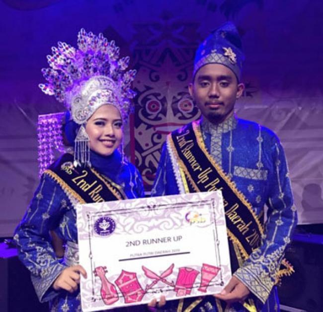 Perwakilan Riau Raih Runner-Up II Pemilihan Putra Putri Daerah IPB