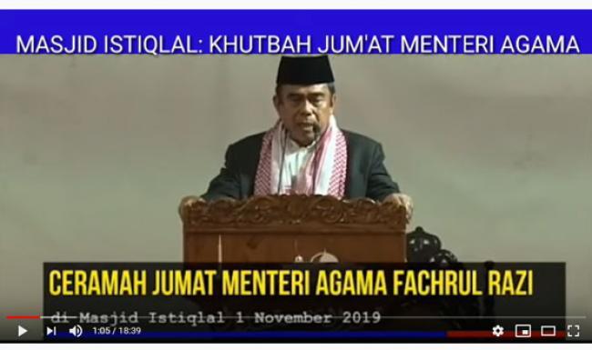 Ustaz Abdul Somad Bicara Hukum Khotbah Jumat Tanpa Shalawat