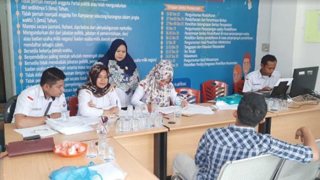 Hari Pertama Pembukaan Panwascam di 9 Kabupaten/Kota se Riau, 149 Orang Mendaftar