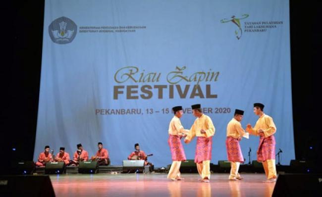 Merajut Kebersamaan Melalui Zapin di Riau Zapin Festival 2020