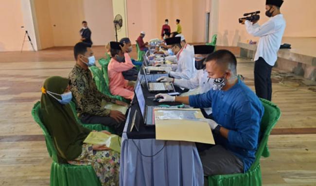 376 Peserta MTQ Ke-45 Tingkat Kabupaten Bengkalis Lakukan Pendaftaran Ulang