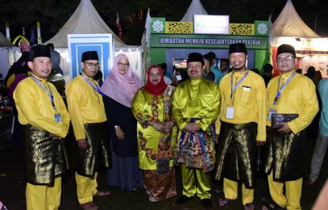 Kafilah Kabupaten Bengkalis Raih Juara Umum II MTQ ke-38 Provinsi Riau di Kampar