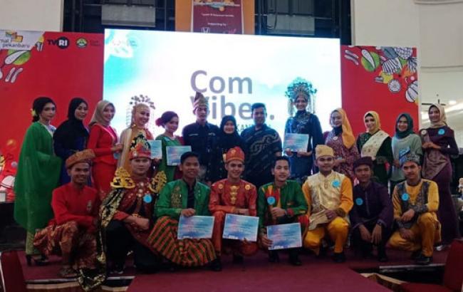 Mahasiswa UR Gelar Fashion Show Busana Melayu