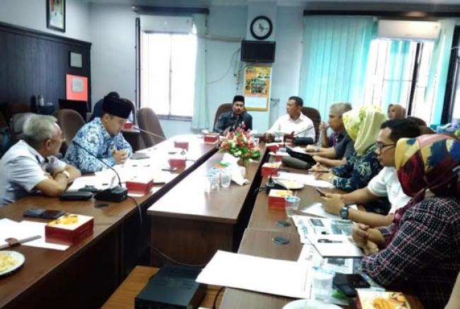 PAD Parkir Bocor, Dishub Pekanbaru Dicecar Komisi II DPRD