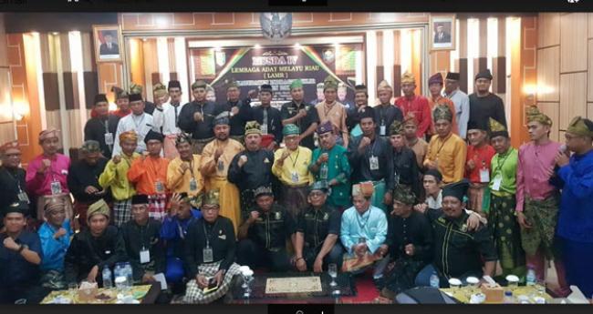 Said Syarifuddin Terpilih Sebagai Ketua DPH dan Ferryandi MKA LAMR Inhil