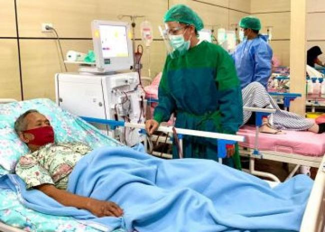 """Layanan Cuci Darah RSUD Dr Pratomo Bagansiapiapi Dapat Pujian, dr. Tri: """"Sudah Menjadi Tugas Kami"""""""