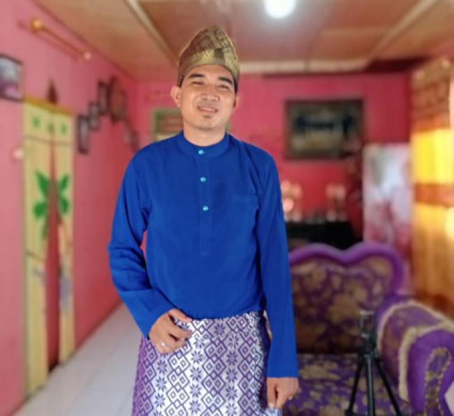 Putera Rohil Wakili Riau Lomba Pantun Tingkat Nasional